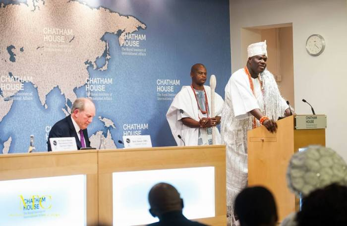 OONI AT CHATHAM HOUSE IN LONDON6