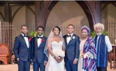 Soyinka son weds
