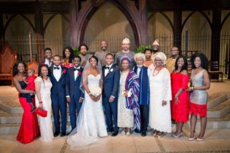 Soyinka son weds6
