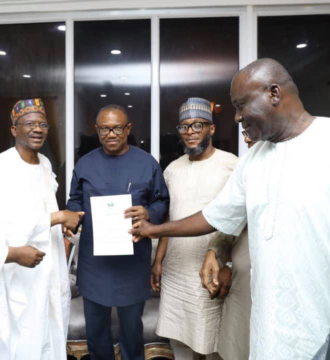 Atiku Abubakar picks Peter Obi 2