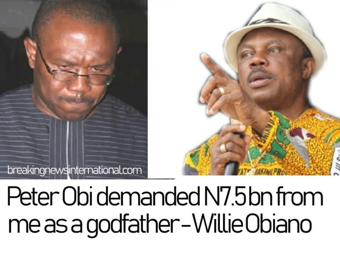 Peter Obi Demanded N7.5bn From Me