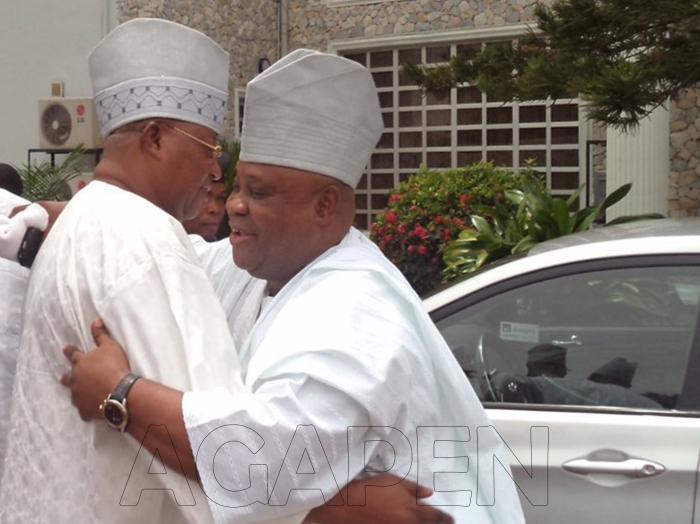 1 Senators Iyiola and Ademola AdelekeAGAPEN 2