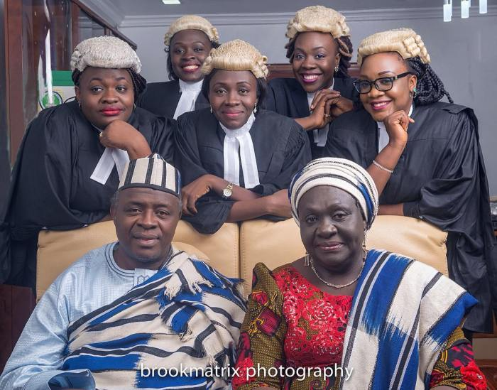 5 Nigerian Daughters Of The Same Parents Who Are All LawyersAGAPEN
