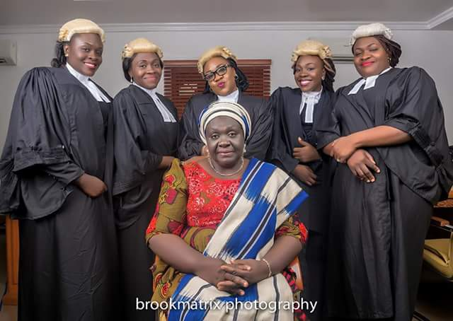 5 Nigerian Daughters Of The Same Parents Who Are All LawyersAGAPEN1