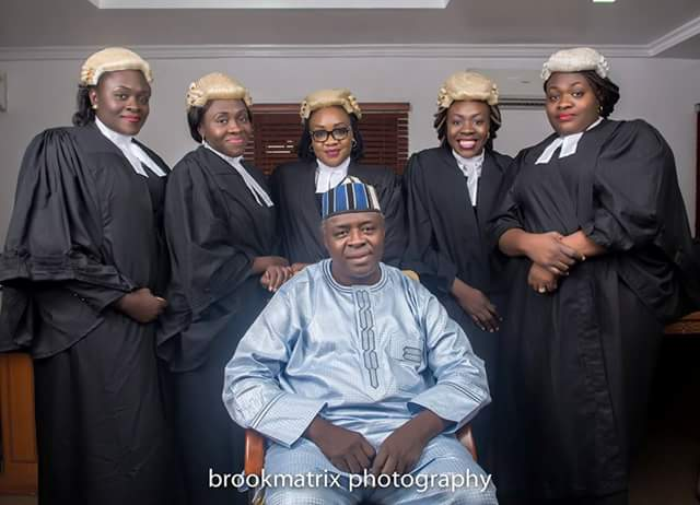 5 Nigerian Daughters Of The Same Parents Who Are All LawyersAGAPEN2