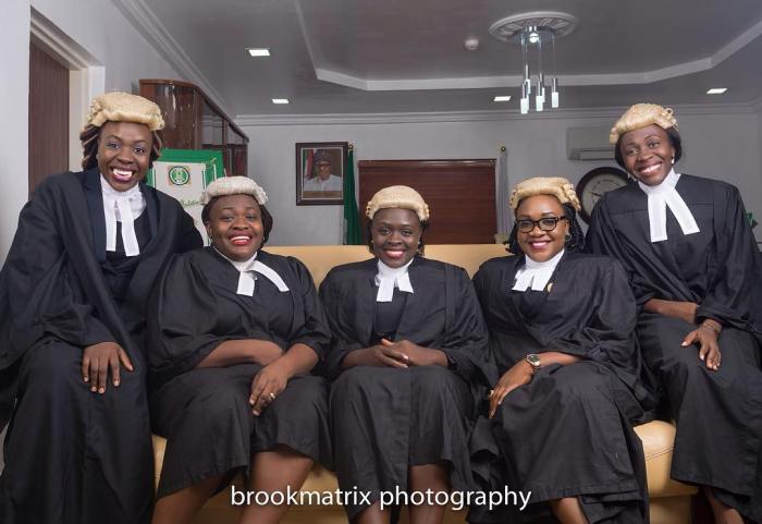 5 Nigerian Daughters Of The Same Parents Who Are All LawyersAGAPEN3