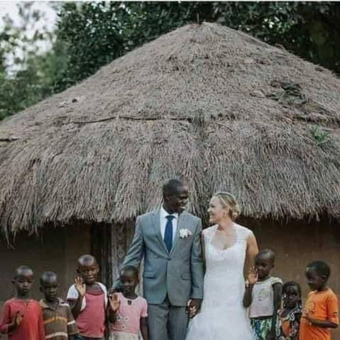Canadian Woman Married A Kenyan Man Whose Wife Abandons With 7 Kids AGAPEN