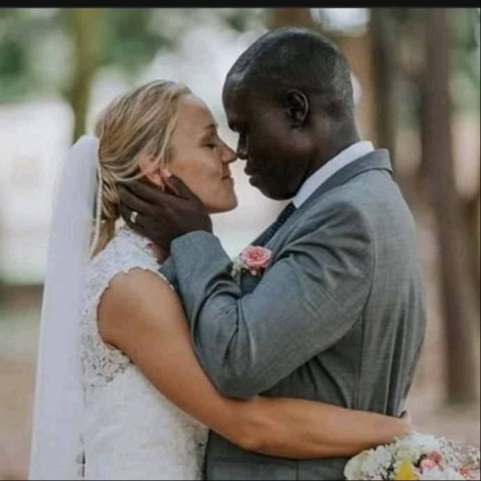 Canadian Woman Married A Kenyan Man Whose Wife Abandons With 7 Kids