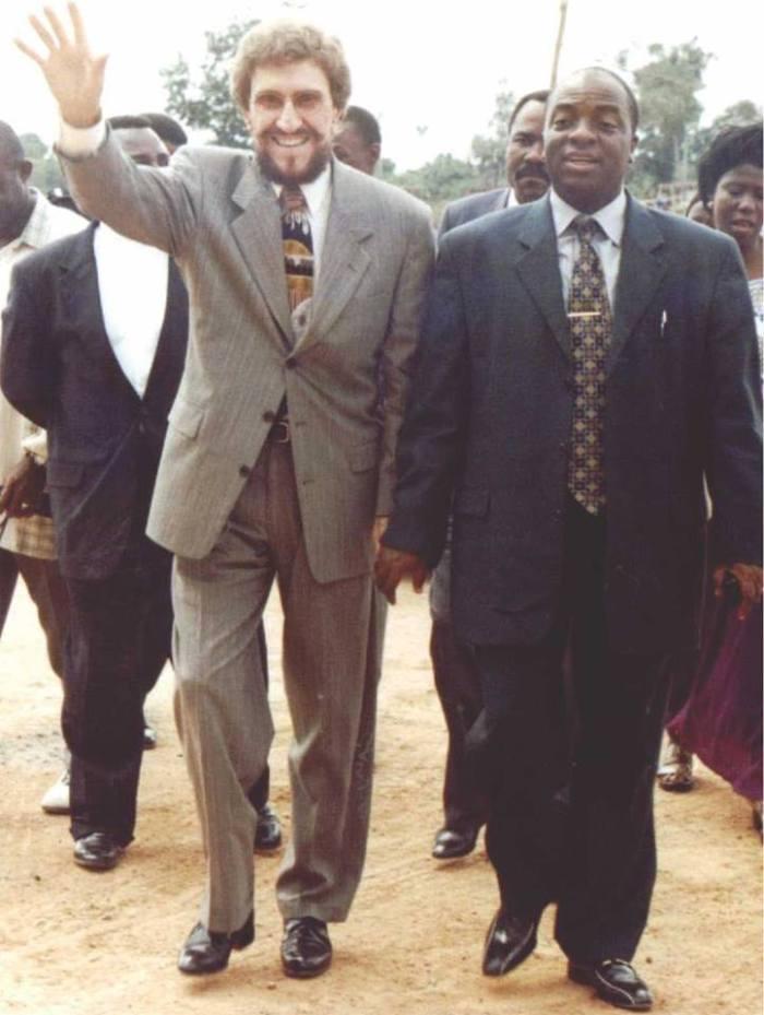 Evangelist Tommy Lee Osborn and Bishop Oyedepo