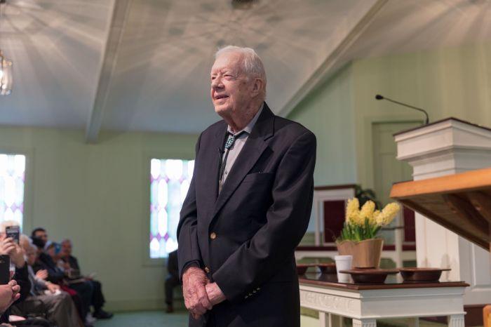 Former U.S. President Jimmy CarterAGAPEN