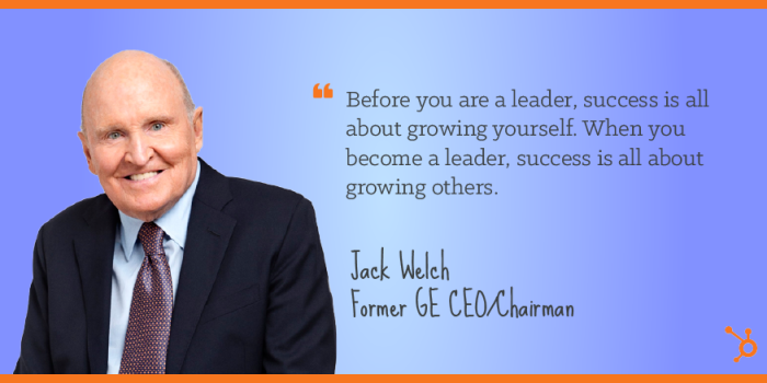 Leadership Talent Of Jack Welch