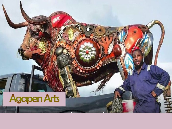 Nigerian sculptor DOTUN POPOOLA 4