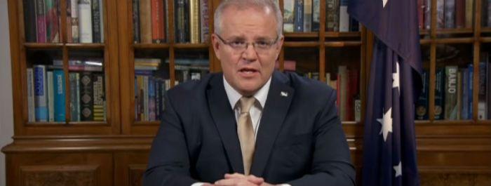 Prime Minister Scott MorrisonofAustraliaAGAPEN3