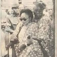 Chief Olusegun Mathew Okikiola Aremu Obasanjo and Stella-AGAPEN