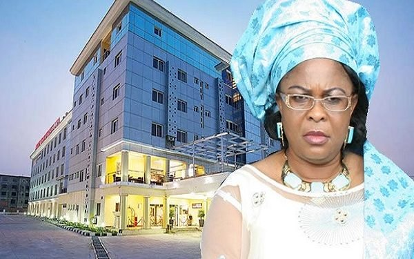 Patience Jonathan's hotel to become isolation centreAGAPEN