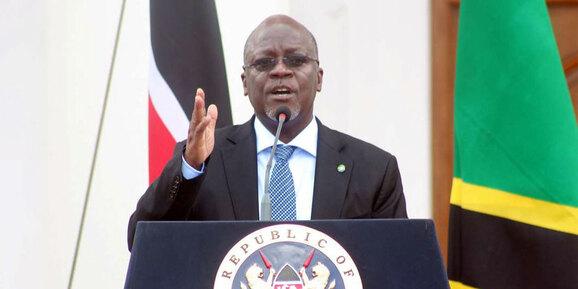 President of Tanzania, John MagufuliAGAPEN 4