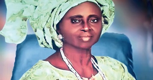The Young Chief Hannah Idowu Dideolu Awolowo-AGAPEN