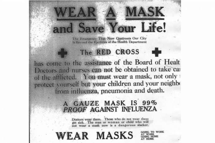 wearing mask during The 1918 Flu Pandemic-AGAPEN 2